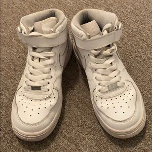 Nike Shoes - Nike High Top Air Force One White Size 5.5 Youth